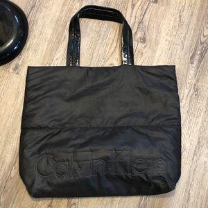 Calvin Klein Windbreaker Material Shoulder Bag